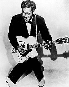 Johnny B Goode Chords And Lyrics Chuck Berry Songs On Guitar
